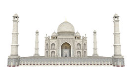 Taj Mahal Isolated royaltyfri illustrationer