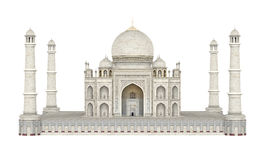 Taj Mahal Isolated Royalty Free Stock Photography