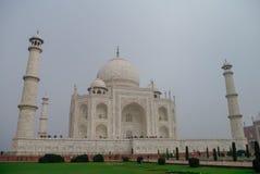 Taj Mahal jest białym marmurowym mauzoleumem na południowych półdupkach Obraz Stock