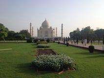 Taj Mahal jest białym marmurowym mauzoleumem, Agra, India Zdjęcie Royalty Free