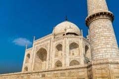 Taj Mahal jest białym marmurowym mauzoleumem w India Obraz Stock