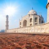 Taj Mahal. L'India Fotografia Stock Libera da Diritti