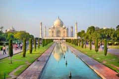 Taj Mahal la India Fotografía de archivo libre de regalías
