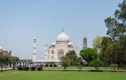 Taj Mahal, la India Foto de archivo