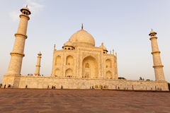 Taj Mahal in late sun Agra in India Stock Photography