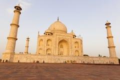 Taj Mahal in late sun Agra in India Stock Photography