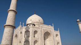 Taj Mahal-lengte stock videobeelden