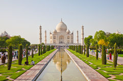Taj Mahal located in Agra 10 Royalty Free Stock Images