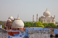 Taj Mahal located in Agra 12 Royalty Free Stock Photo