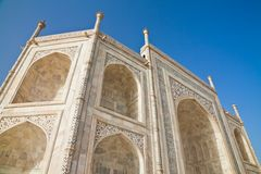 Taj Mahal located in Agra 13 Royalty Free Stock Images