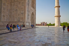 Taj Mahal located in Agra 18 Stock Image