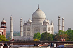 Taj Mahal located in Agra 21 Stock Images