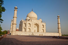 Taj Mahal located in Agra 3 Stock Images