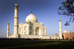 Taj Mahal magnificent Stock Photo