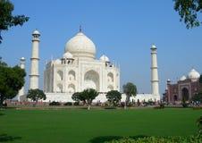 Taj Mahal main view Royalty Free Stock Images