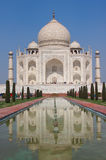 Taj Mahal marble mausoleum in Agra, India Royalty Free Stock Image