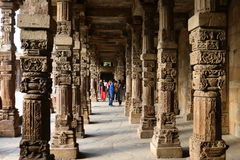 Taj Mahal - mausoleo - mezquita, situada en Agra, la India imagenes de archivo