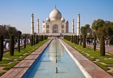 Taj Mahal Mausoleum Royalty Free Stock Photography