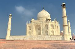 The Taj Mahal mausoleum Stock Photography