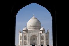 Taj Mahal mausoleum Stock Photos
