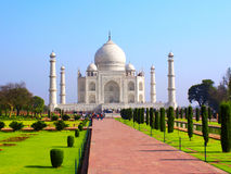 Taj Mahal mausoleum, Agra, India Stock Photo