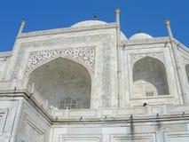 Taj Mahal mausoleum in Agra, India Royalty Free Stock Images