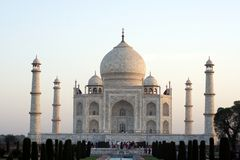 Taj Mahal, Agra Stock Photography
