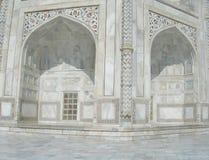 Taj mahal mausoleum details Royalty Free Stock Photo