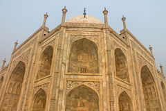Taj Mahal. The mausoleum-mosque, Agra, India Stock Image