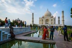 Taj-Mahal mauzoleum Zdjęcie Stock