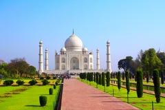 Taj Mahal mauzoleum, Agra, India Zdjęcie Stock