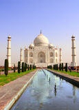 Taj Mahal mauzoleum, Agra, India Obraz Stock