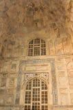 Taj Mahal-the mauzoleum - meczet, buduje element Obraz Royalty Free