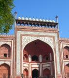 Taj Mahal mauzoleumu kompleks w Agra, India Fotografia Stock