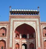 Taj Mahal mauzoleumu kompleks w Agra, India Obraz Royalty Free
