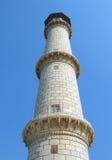 Taj Mahal mauzoleumu minaret Zdjęcie Stock