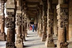 Taj Mahal meczet, lokalizować w Agra, India - mauzoleum - Obrazy Stock