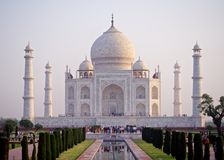 Taj Mahal, men monument royalty free stock photography