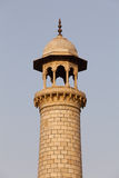 Taj Mahal Minaret Stock Photography