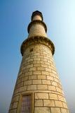 Taj Mahal minaret. The north-eastern minaret of Taj Mahal - Agra, Uttar Pradesh, India Stock Photography