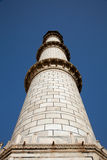 Taj Mahal Minaret in Agra India Royalty Free Stock Images