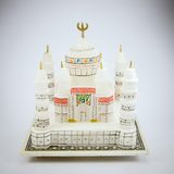 Taj mahal model Royalty Free Stock Images
