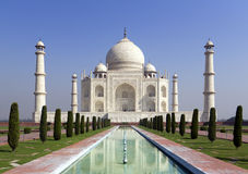 Taj mahal, A monument of love,. A famous historical mausoleum, the Greatest White marble tomb in India, Agra, Uttar Pradesh stock images