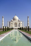 Taj mahal, A monument of love. A famous historical monument, the Greatest White marble tomb in India, Agra, Uttar Pradesh stock photos