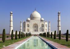 Taj mahal, monumento de A do amor, Imagens de Stock