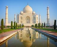 Taj mahal, monumento storico famoso di A Fotografia Stock
