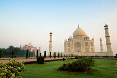 Taj Mahal morgens Lizenzfreie Stockfotografie