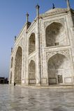 Taj Mahal in the morning Royalty Free Stock Photos
