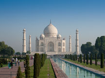 Taj Mahal morning 4 Royalty Free Stock Images
