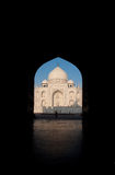 Taj Mahal morning (portrait) Royalty Free Stock Images